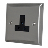 Spectrum Stainless Steel 2 & 5 Amp Plug Sockets